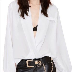 Tobi white blouse